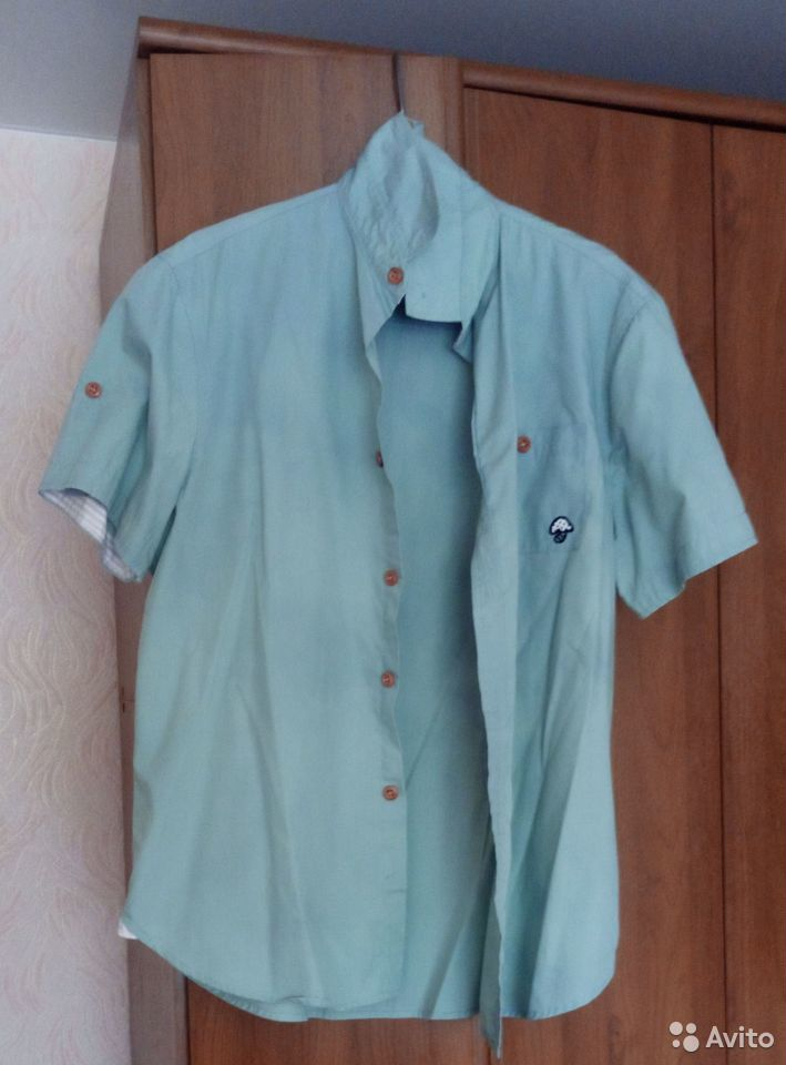 2 рубашки с небольшими дефектами