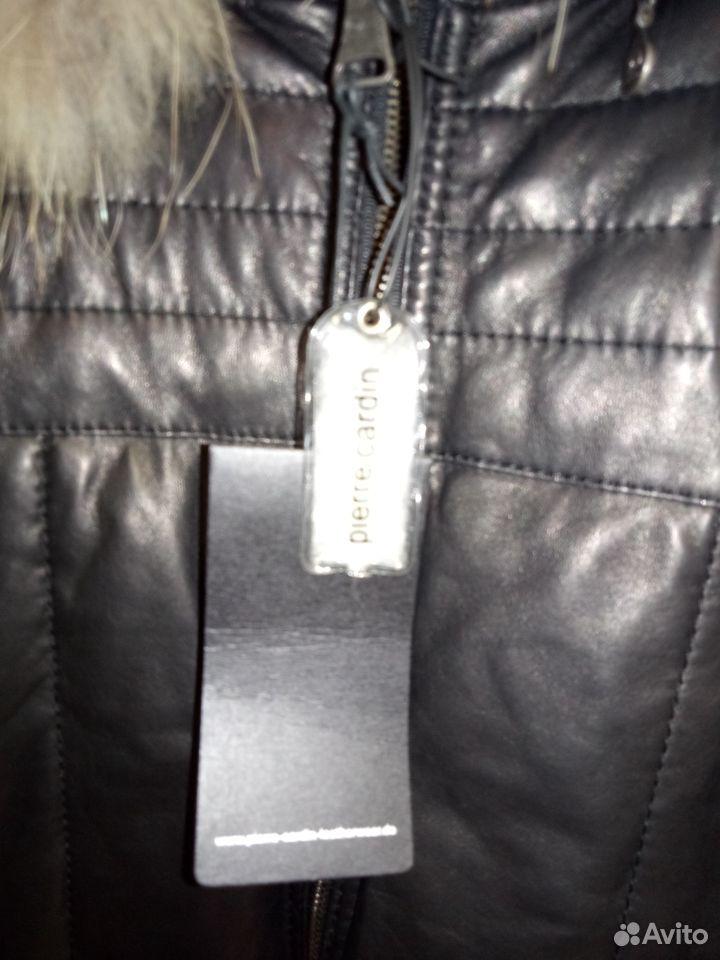 P Cardin 56,58 новый пуховик кожа Felice Ярославль  89109793549 купить 4