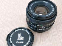 Объектив Canon FD 50 1.8 — Фототехника в Геленджике