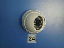 Внутренняя купольная видеокамера 4Mpx с ик