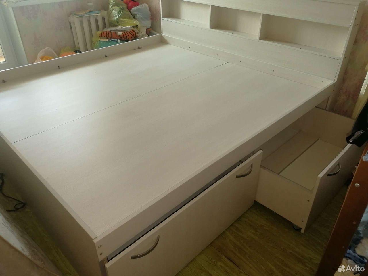 Кровать с матрасом 2,0 * 2,0 метра  89173310344 купить 1