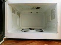 Микроволновая печь бу в рабочем состоянии