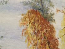 Картина, осенний пейзаж — Мебель и интерьер в Москве
