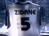 Футболка Zidane Real Madrid 2004/05