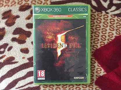 Продам диск resident evil на xbox 360