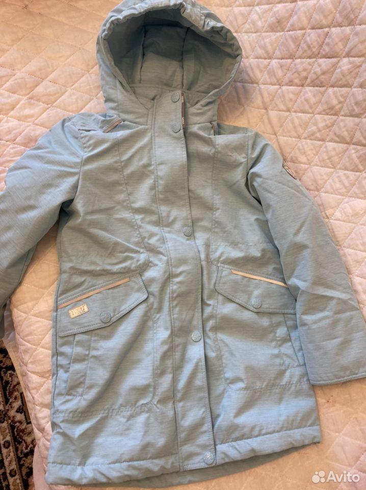 Осенняя куртка для девочки 128