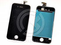 Дисплей для iPhone 4S +тач черный с рамкой AAA