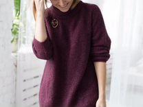 Трикотаж свитер туника Италия S M L — Одежда, обувь, аксессуары в Санкт-Петербурге