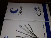 Витая пара Cabeus U/UTP4-c6-s23-in-lszn-gy-305