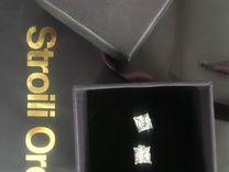 Серьги серебро stroili oro