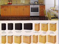 Кухня модульная из 5 предметов с мойкой