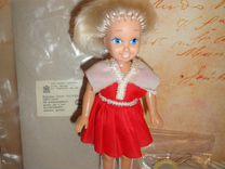 """Кукла Наташа """"Огонек"""" с этикеткой, барбиобразная"""