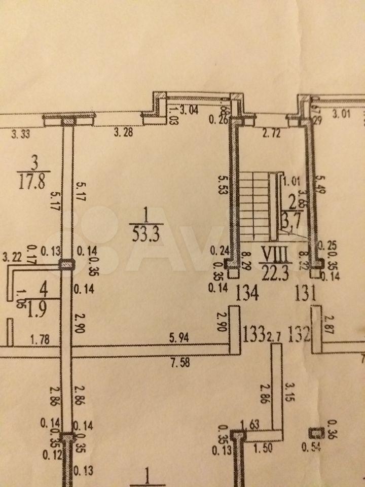 1-к квартира, 52.4 м², 4/5 эт.  89888701274 купить 3