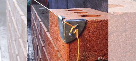 уголки для причалки каменщика