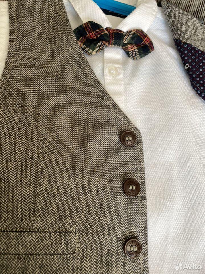 Комплект Next (рубашка, галстук- бабочка, жилет)  89788257655 купить 5