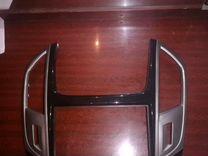 Рамка 2 дин магнитолу. Шевроле круз