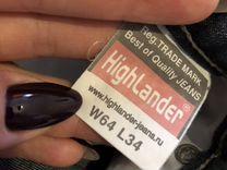 Джинсы Highlander W64 L34