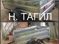 Новый прицеп с документами Н.Тагил 1,7 м, борт 50
