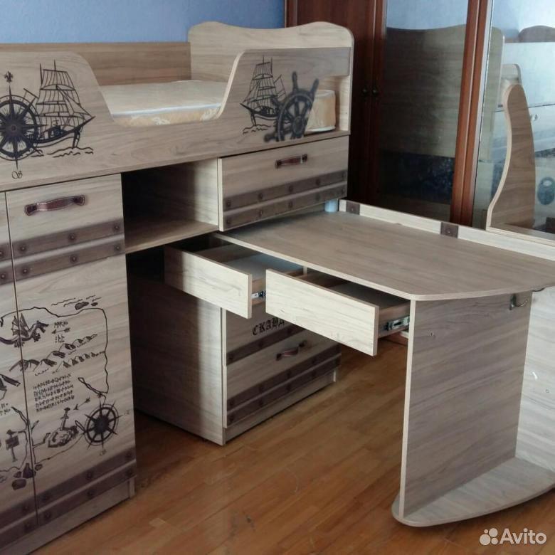 Кровать-чердак корсар  89512977794 купить 4